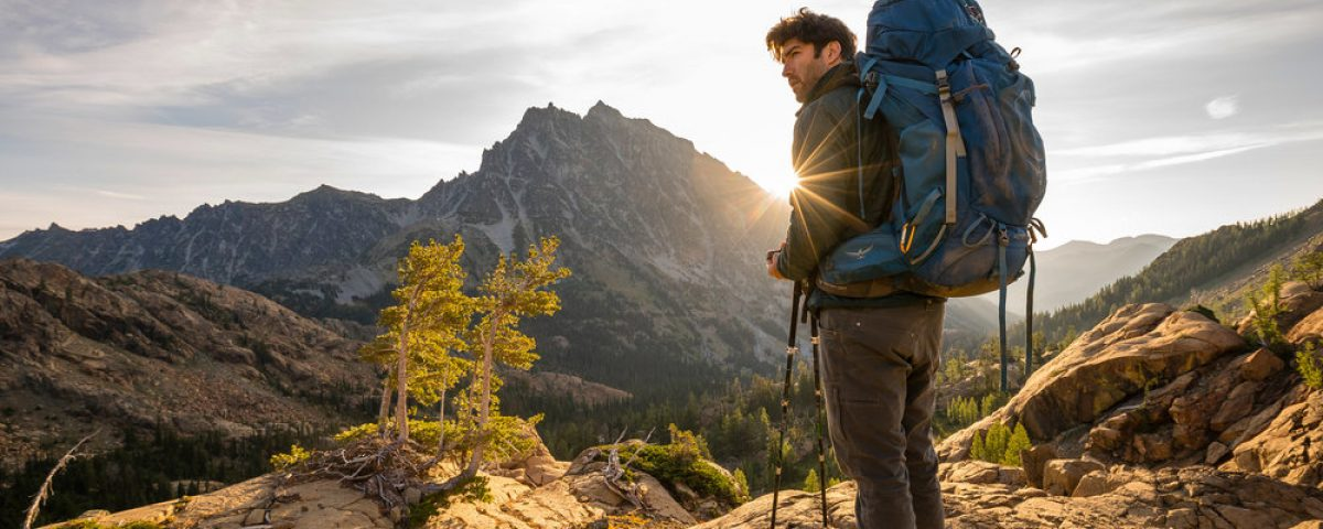 Adventure: Hiking in the Alpine Lakes Wilderness in summer, Washington