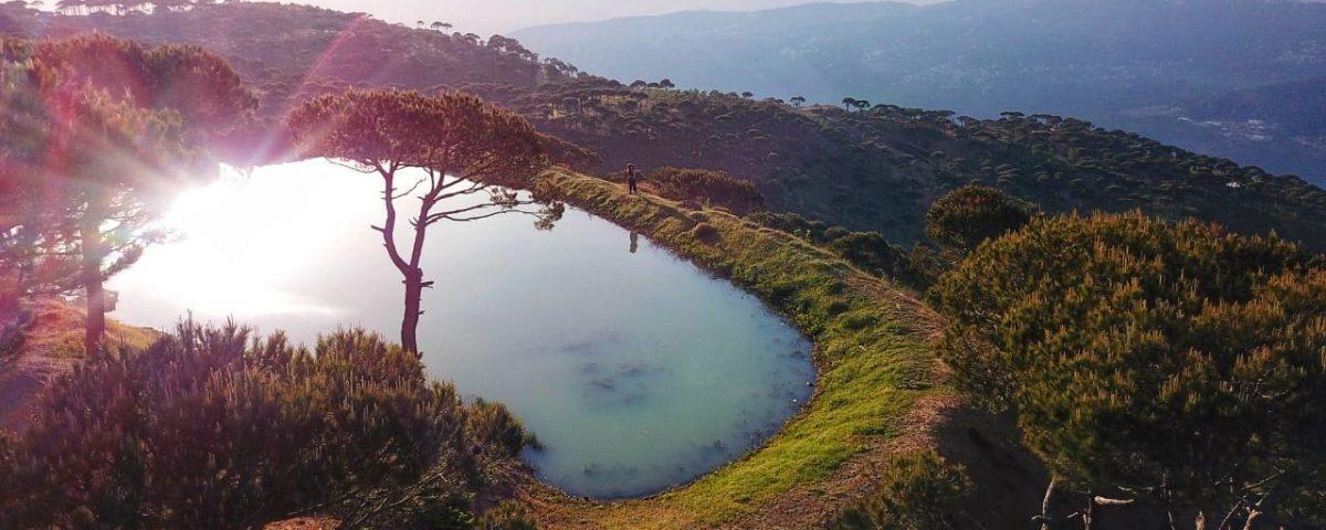 sunset_hiking_falougha_qornayel_lakes_with_lebanese_explorer